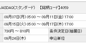 【9月IPO】まぐまぐ(4059)抽選結果は・・・?