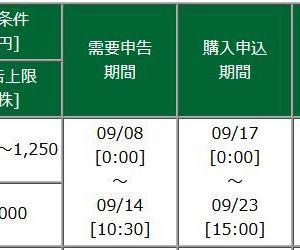 【9月IPO】A級案件!rakumo[ラクモ](4060)抽選結果は・・・?