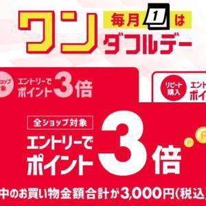 【楽天市場12月】24時間限定!毎月1日だけの限定キャンペーン『ワンダフルデー』