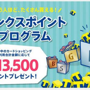 【ポケットカード】サンクスポイントプログラムで最大13500ポイントゲットしよう!