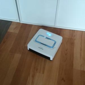 床拭きロボット君!