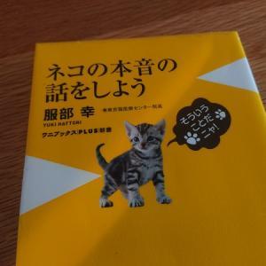 服部幸先生の「ネコの本音の話をしよう」を読みました