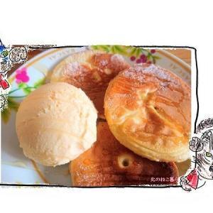 米粉で作る、素朴なりんごパンケーキ