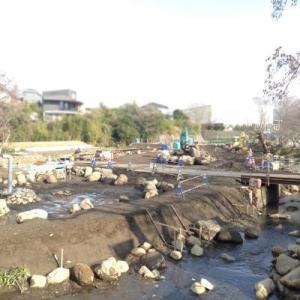 新・増設中の丸池公園のようす / 三島・清水町