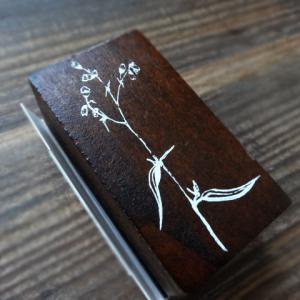 mo-cardの植物スタンプ/on safari(サントムーン店)