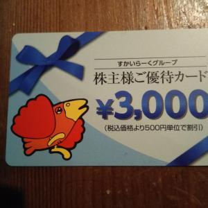 【楽天スーパーセール】購入レポと、届いた株主優待