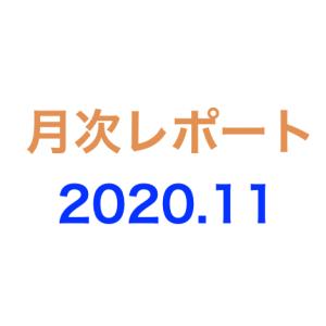 月次レポート 2020年11月