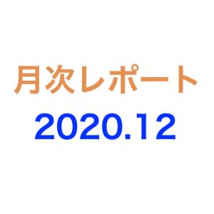 月次レポート 2020年12月