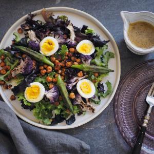 ひよこ豆のサラダ|サラダ嫌いのサラダレシピ