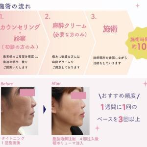 7月のお得な⭐️ 小顔と首のひきしめ注射