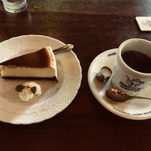 星乃珈琲店のバナナのバスクチーズケーキ(2020年夏メニュー)