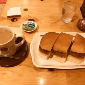 コメダ珈琲店のカリー祭り カツカリーパン