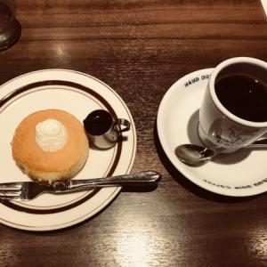 星乃珈琲店のモーニング ミニパンケーキ/2020年秋メニュー