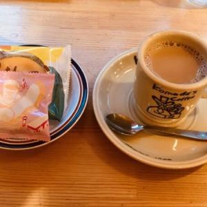 コメダ珈琲店のおやつ「マルーン」ベイクドケーキ