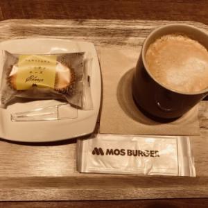 モスバーガーのひんやりドルチェ ベイクドチーズケーキ