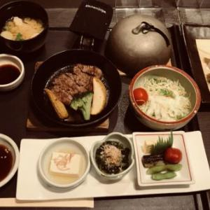 大乃やのランチ 松天〜国産フィレ肉の御膳〜in あべのハルカスダイニング店〜