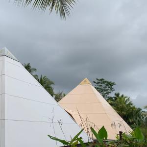 バリ島の神聖な儀式でピラミッドオルゴナイトパワーUP!