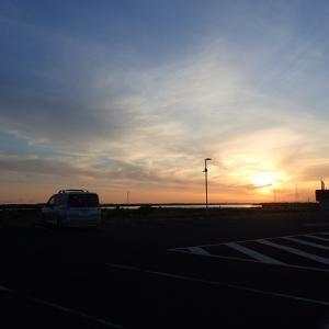 旅のおわりは富津岬です