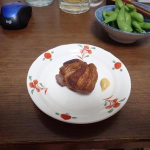 焼豚を作ってみました..