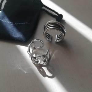 コロナ禍で太くなった指にも対応できるリング。PHILIPPEAUDIBERT フィリップオーディベール