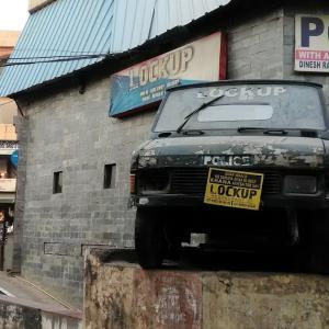 インドの監獄レストラン@ Vyapar Kendra ~ LOCK UP ~