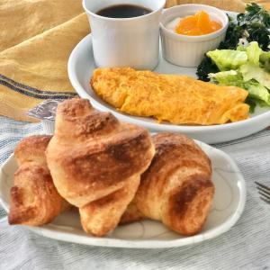 おからの入った生地でバター少なめ『朝食に似合うクロワッサン』