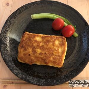 朝ごはんに!あっという間に「冷凍豆腐でつくる満足ピカタ」&赤江アナの件で色々考える