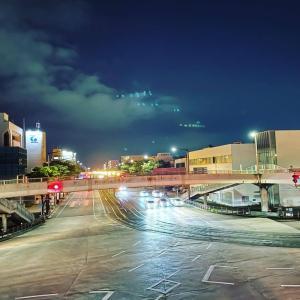 夜の豊橋の写真2