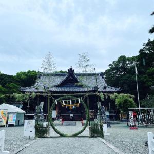 【神社】茅の輪くぐり