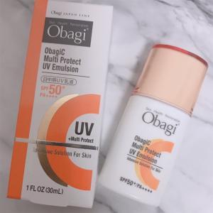【シミにしない日中用UV乳液】使うたびに焼けにくく、美肌効果が期待できるオバジ マルチプロテクトUV乳液を試してみました。