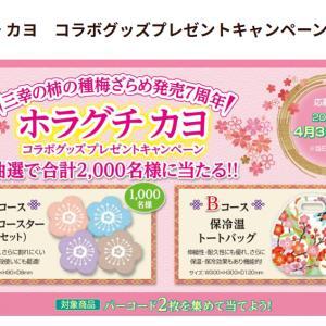 【懸賞情報】三幸製菓♡選べるe-GIFT1000円分!コラボグッズもーー!