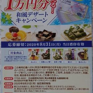 【懸賞情報】新宿中村屋♡1万円分のJCBギフトカード当たる!和風デザートキャンペーン☆