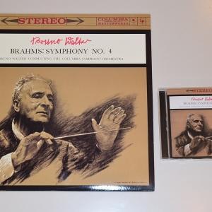 ブラームス 交響曲 第4番/ワルター、コロンビア交響楽団(Classic Records 180g重量盤LP)