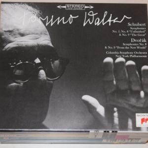 シューベルト&ドヴォルザーク:交響曲集 /ワルター、コロンビア交響楽団他(SACD/CDハイブリッド盤3枚+通常CD)