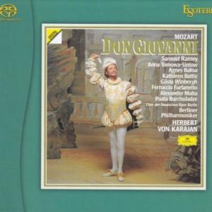 モーツァルト 歌劇「ドン・ジョヴァンニ」全曲/カラヤン、ベルリン・フィル他(EsotericSACD/CDハイブリッド盤)