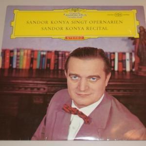 シャンドール・コンヤ オペラアリアを歌う/シャンドール・コンヤ・リサイタル