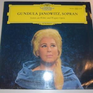 ウェーバー、ワーグナーのオペラアリアを歌う/ヤノヴィッツ、ライトナー、ベルリンドイツオペラ管弦楽団