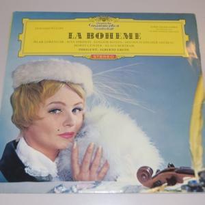 プッチーニ:歌劇『ボエーム』歌唱:ドイツ語 ハイライト(西独初期盤LPレコード)
