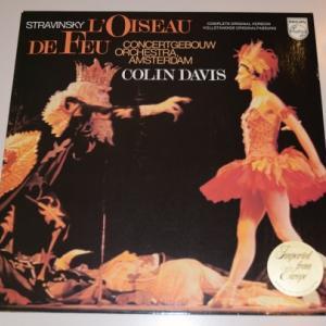ストラヴィンスキー バレエ「火の鳥」/デイヴィス、アムステルダム・コンセルトヘボウ管弦楽団