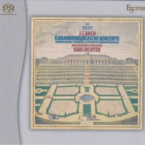 J.S.バッハ ブランデンブルク協奏曲/リヒター、ミュンヘン・バッハ管弦楽団(EsotericSACD/CDハイブリッド盤)