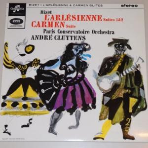 ビゼー 組曲「アルルの女」、カルメン組曲/クリュイタンス、パリ音楽院管弦楽団(Testament180g重量盤LP)