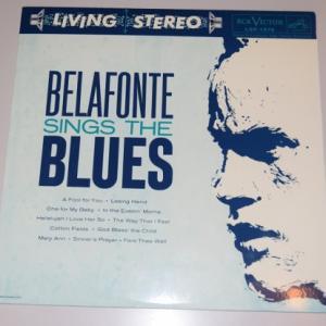 ベラフォンテ・シングス・ザ・ブルース/ハリー・ベラフォンテ(Classic Records180g重量盤LP)
