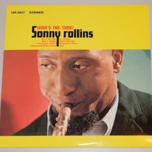 ナウズ・ザ・タイム/ソニー・ロリンズ(Classic Records HQ180g重量盤LPレコード)