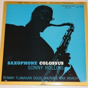 サキソフォン・コロッサス/ソニー・ロリンズ(DCC Compact Classics HQ180gLPレコード)