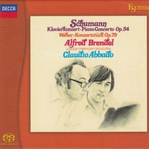 シューマン、グリーグ ピアノ協奏曲/ブレンデル、アバド、ルプー、プレヴィン、ロンドン交響楽団(EsotericSACD/CDハイブリッド盤)