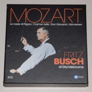 フィガロの結婚』 全曲、『ドン・ジョヴァンニ』 全曲、『コジ・ファン・トゥッテ』 全曲、他 フリッツ・ブッシュ&グラインドボーン音楽祭(9CD)