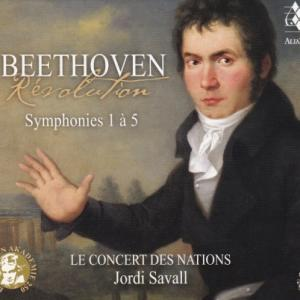 ベートーヴェン 交響曲 第1番-第5番/サヴァール、ル・コンセール・デ・ナシオン(3SACD)