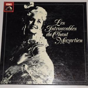 Les Introuvables du Chant Mozartien 6LPセット
