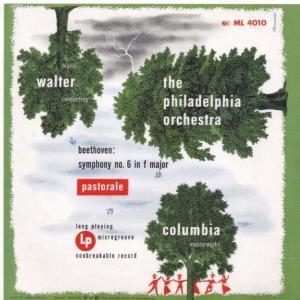 ベートーヴェン 交響曲 第6番「田園」、シューベルト 未完成交響曲/ワルター、フィラデルフィア管弦楽団