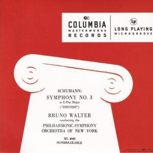 シューマン 交響曲 第3番「ライン」、スメタナ 「モルダウ」/ワルター、ニューヨーク・フィル
